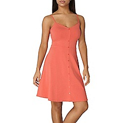 Dorothy Perkins - Coral cami dress