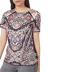 Dorothy Perkins - Oriental pom pom trim t-shirt