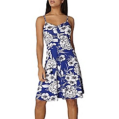 Dorothy Perkins - Cobalt floral cami dress