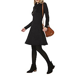 Dorothy Perkins - Black cowl neck dress
