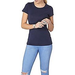 Dorothy Perkins - Navy cotton t-shirt