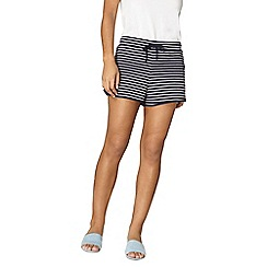 Dorothy Perkins - Striped jersey shorts