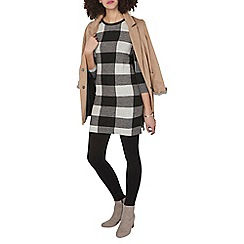 Dorothy Perkins - Tall grey check tunic