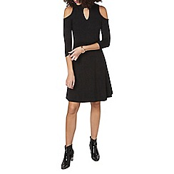 Dorothy Perkins - Tall charcoal soft choker dress