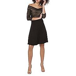 Dorothy Perkins - Tall black lace bardot dress