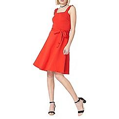 Dorothy Perkins - Red ruffle sun dress