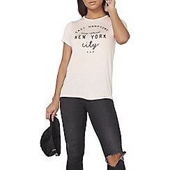 Dorothy Perkins - Blush new york t-shirt