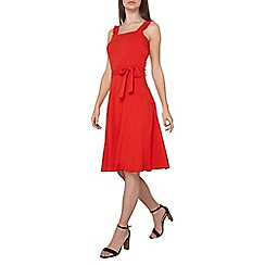Dorothy Perkins - Tall red ruffle sun dress