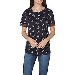 Dorothy Perkins - Tall navy short sleeved jersey t-shirt