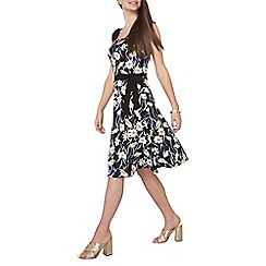 Dorothy Perkins - Tall daisy print ruffle sun dress