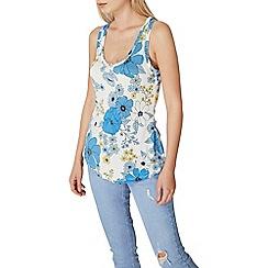 Dorothy Perkins - Blue floral vest
