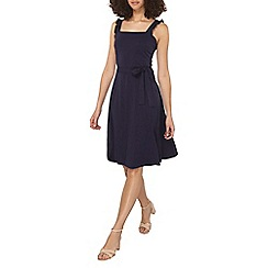 Dorothy Perkins - Tall navy ruffle sun dress