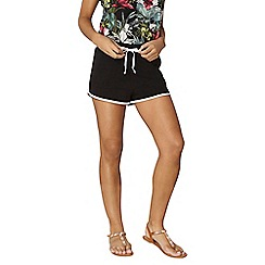 Dorothy Perkins - Black jersey shorts