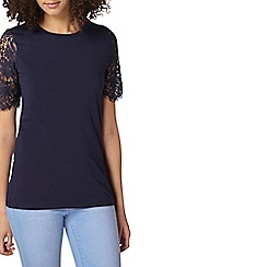 Dorothy Perkins - Tall navy jersey t-shirt