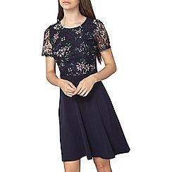 Dorothy Perkins - Floral print lace top dress