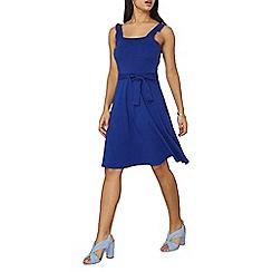 Dorothy Perkins - Cobalt ruffle strap sun dress
