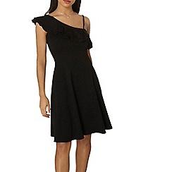 Dorothy Perkins - Black one shoulder dress