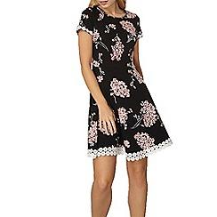 Dorothy Perkins - Black blossom print dress