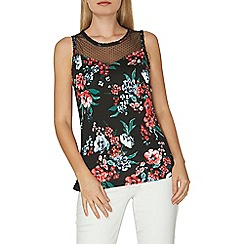 Dorothy Perkins - Tie back lace shell top