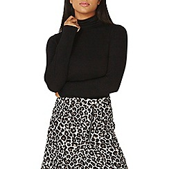Dorothy Perkins - Black high neck top