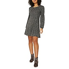Dorothy Perkins - Grey fit and flare dress