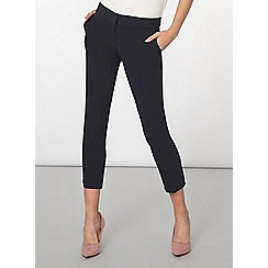 Dorothy Perkins - Navy tab side ankle grazer