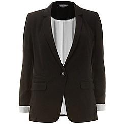 Dorothy Perkins - Tall check 1 button blazer