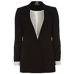 Dorothy Perkins - Tall black crepe boyfriend jacket