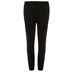 Dorothy Perkins - Tall black pleated peg trousers
