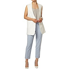 Dorothy Perkins - Blue ankle grazer trousers