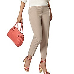 Dorothy Perkins - Stone ankle grazer trousers