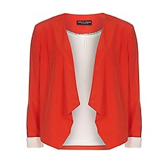 Dorothy Perkins - Tall orange waterfall jacket