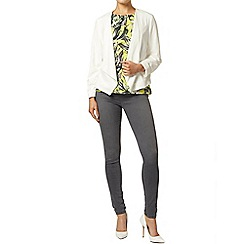 Dorothy Perkins - Ivory waterfall jacket