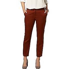 Dorothy Perkins - Ginger cotton crop trousers