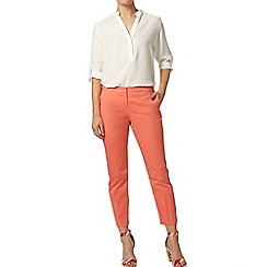 Dorothy Perkins - Papaya cotton crop trousers