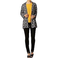 Dorothy Perkins - Mono printed duster jacket
