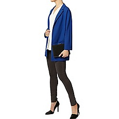 Dorothy Perkins - Blue crepe duster jacket