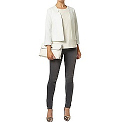 Dorothy Perkins - Mint cropped notch jacket