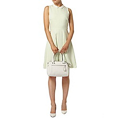 Dorothy Perkins - Mint scallop collar skater dress