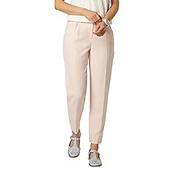 Dorothy Perkins - Blush double crepe peg trousers