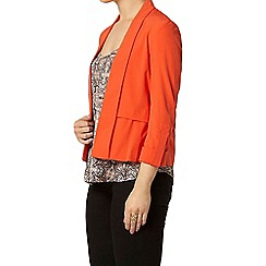 Dorothy Perkins - Red waterfall jacket with tab