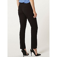 Dorothy Perkins - Black straight leg trouser
