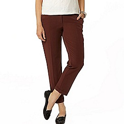 Dorothy Perkins - Chocolate ankle grazer trouser