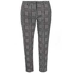 Dorothy Perkins - Monochrome check textured trouser