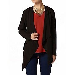 Dorothy Perkins - Black crepe waterfall jacket