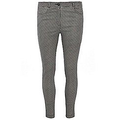 Dorothy Perkins - Monochrome gingham stretch trouser