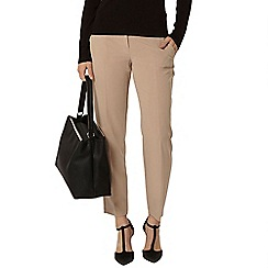 Dorothy Perkins - Camel ankle grazer trousers