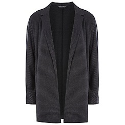 Dorothy Perkins - Tall navy dogtooth jacket
