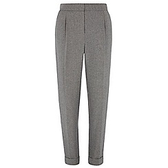 Dorothy Perkins - Tall grey herringbone trouser
