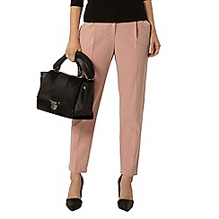Dorothy Perkins - Clay piped tapered leg trouser